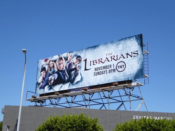 The Librarians season 2 billboard