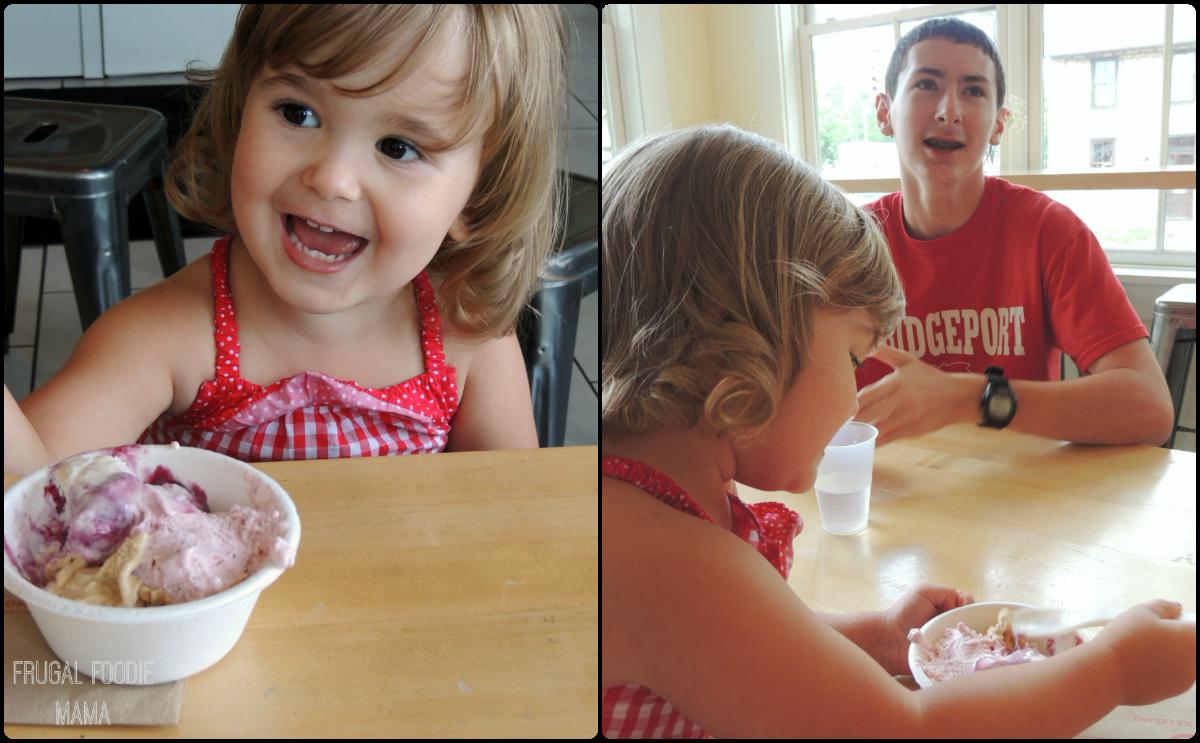 Tasty fun for every member of the family at Jeni's Splendid Ice Creams- Columbus, OH via thefrugalfoodiemama.com #familytravel