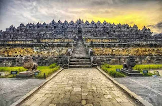 View Of Borobudur Temple
