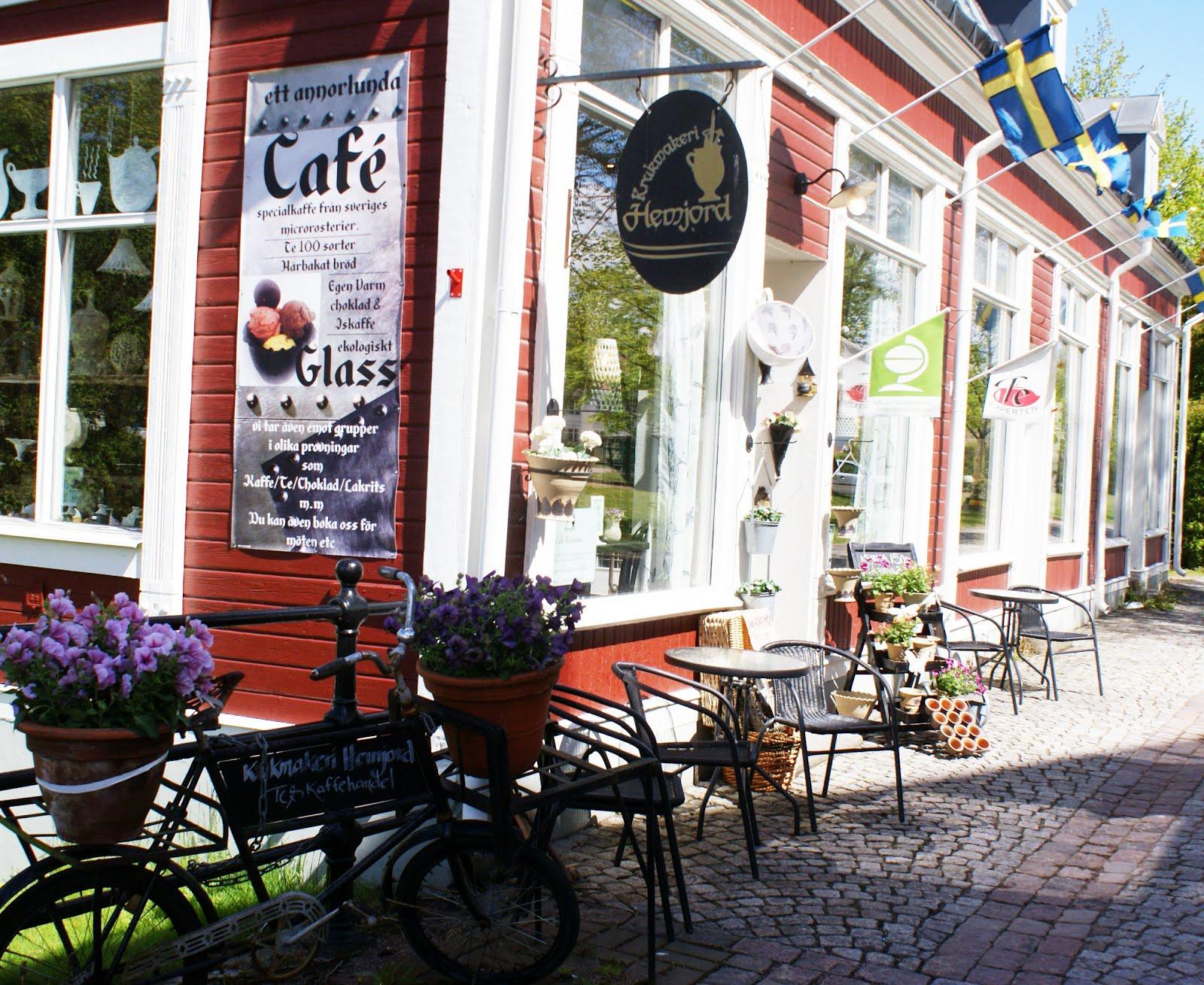 Vår butik/verkstad/café 180kvm