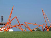 """L'escultura """"La Matarona"""" de Jordi Cuyàs i Jaume Simon, a la Plaça de França de Mataró. Autor: Cristian. Bloc: """"Escultures Públiques de Mataró"""""""