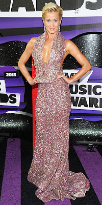 Kellie Pickler, CMT Music Awards, fashion, red carpet