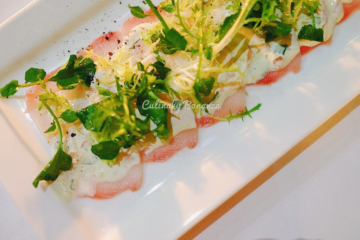 Swordfish Carpaccio (source: www.culinarybonanza.com)