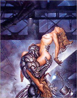 Chichoni, ciberpunk, robots, ciencia ficción