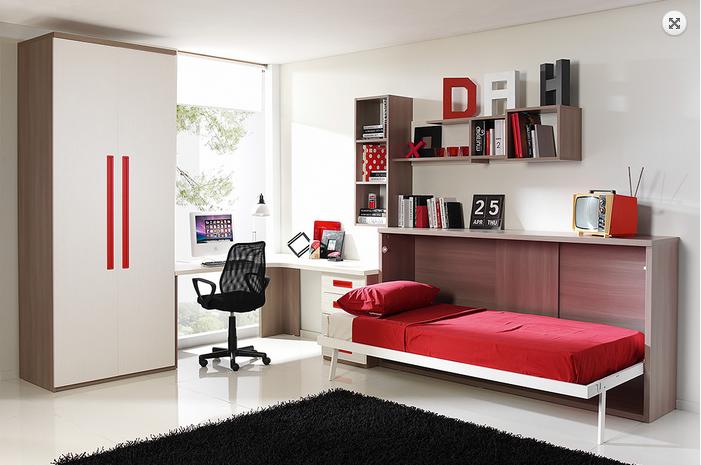 Wall beds ecuador c mo aprovechar el espacio al m ximo en - Como aprovechar espacios pequenos ...