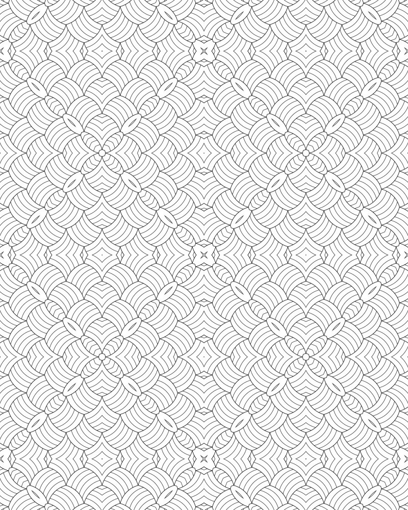 patterned designs coloring pages - photo#4