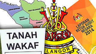 87.6 peratus tanah wakaf di Selangor tidak diwarta