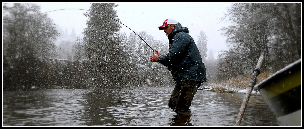 Gorge fly shop blog what are we fishing winter steelhead for Winter fishing gear