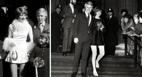 Wedding inspiration ten 60s celebrity weddings