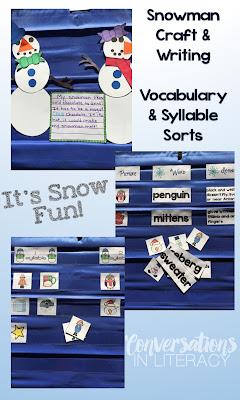 Winter Snowman Activities