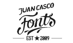 Fonts by Juan Casco