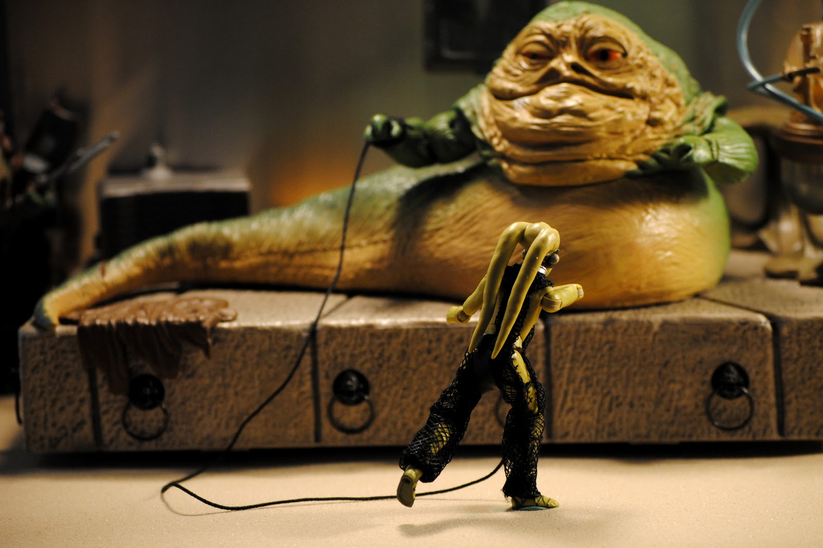 Princess Leia Slave Action Figure - Hot Girls Wallpaper Jabba The Hutt And Oola