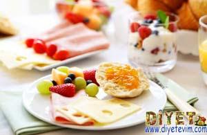 diyet brunch kahvaltı