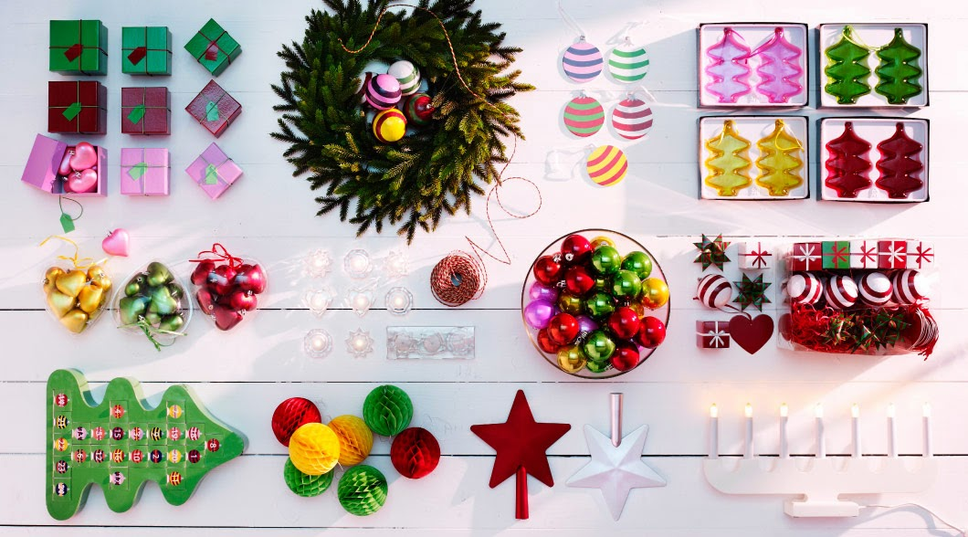 tres diferentes para navidad segun ikea