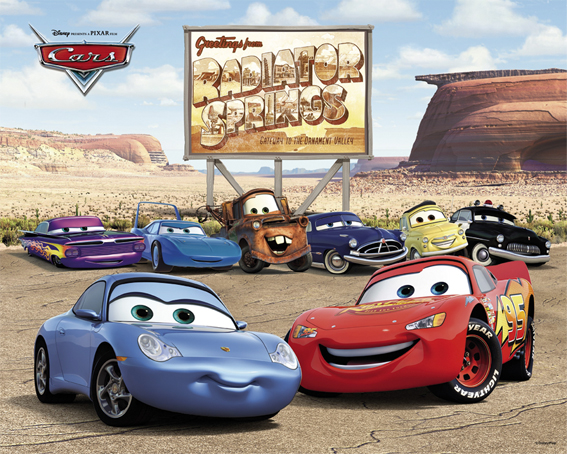 Disney Cars on marin toyota