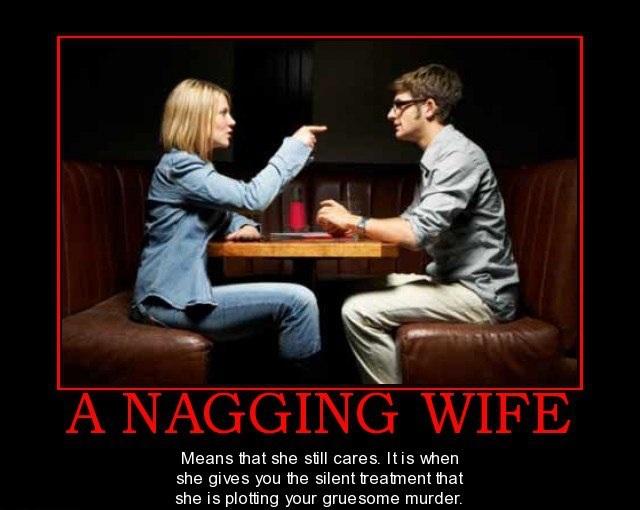 Fun Wife Meme : A nagging wife lolntroll