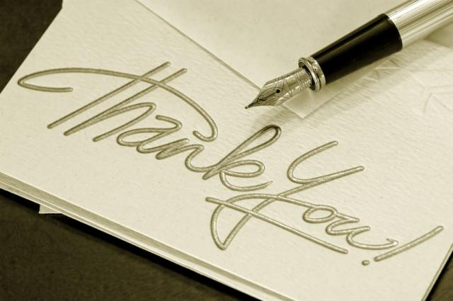 thank you letter after interview email. you letter after interview