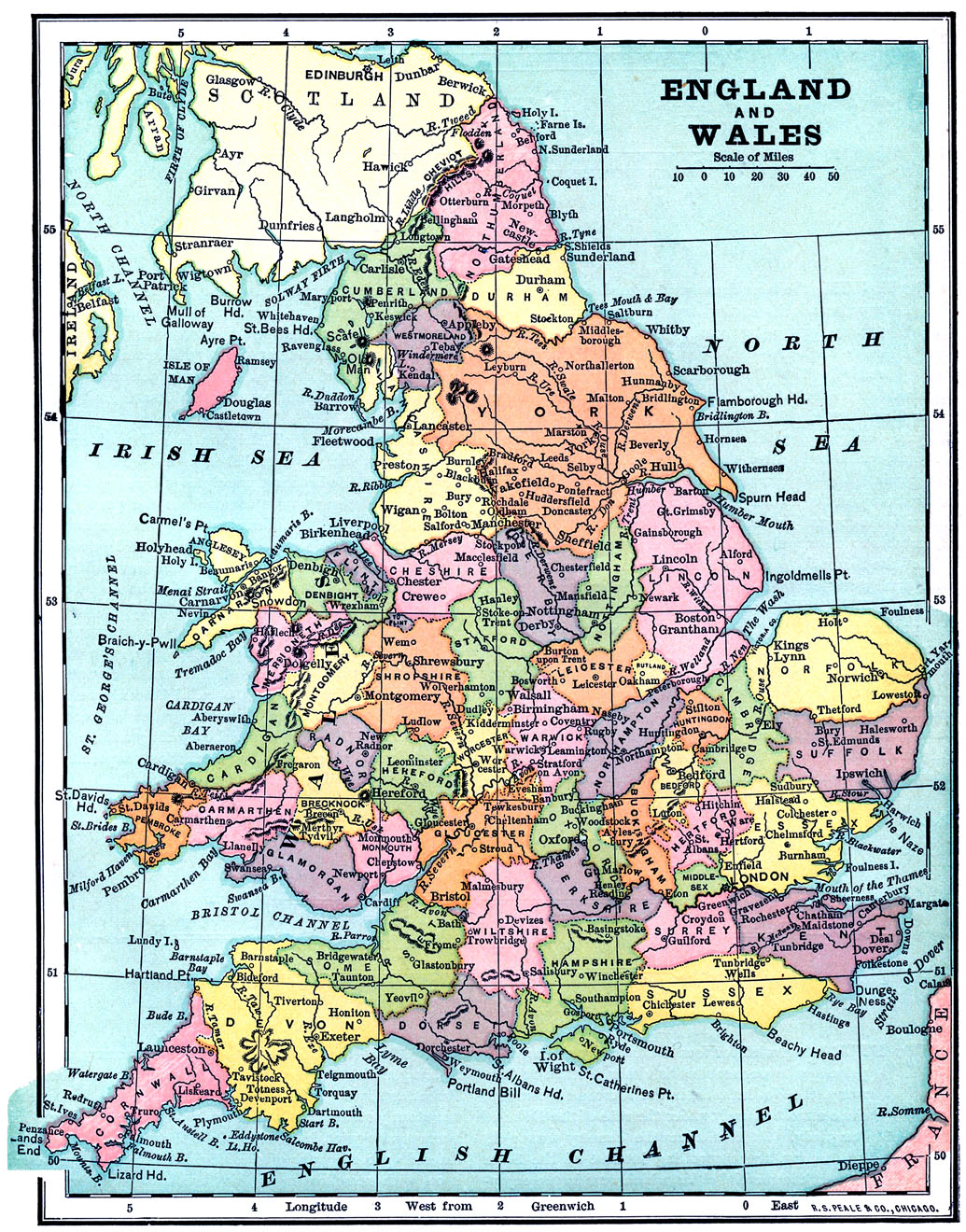 Remarkable image regarding printable map of england