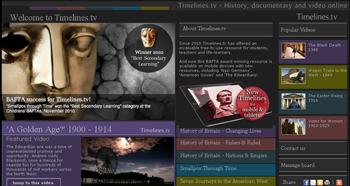 la historia mundial en Timelines.tv - www.dominioblogger.com