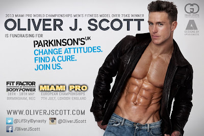 Hot Male Model and Hunk Oliver J. Scott