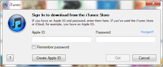 credit card for iTunes account