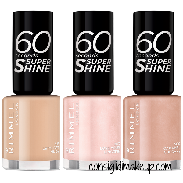 Preview: Nuovi smalti 60 Seconds Super Shine - Rimmel