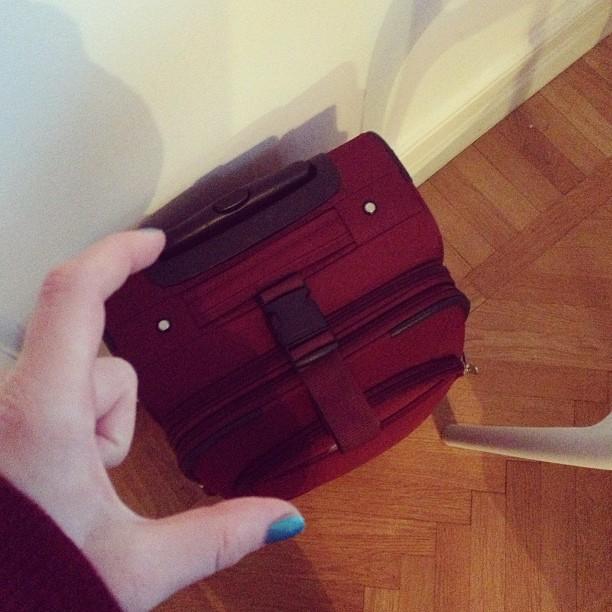 Handväska Och Handbagage : Packad och klar peches mignons