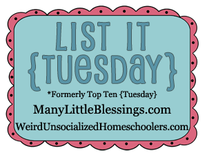 List It Tuesday