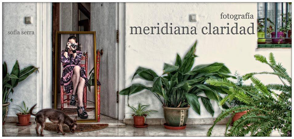 Meridiana claridad (Sofía Serra)
