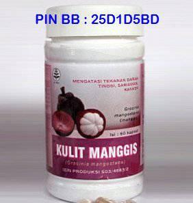 Produk herbal harga kapsul kulit manggis sidomuncul