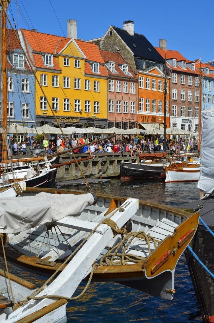 nyhavn, kodaň, copenhagen, docks, boat, ship, trip, sea, bay, moře, denmark, dánsko