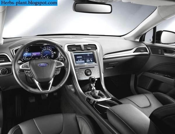 Ford mondeo car 2013 interior - صور سيارة فورد مونديو 2013 من الداخل