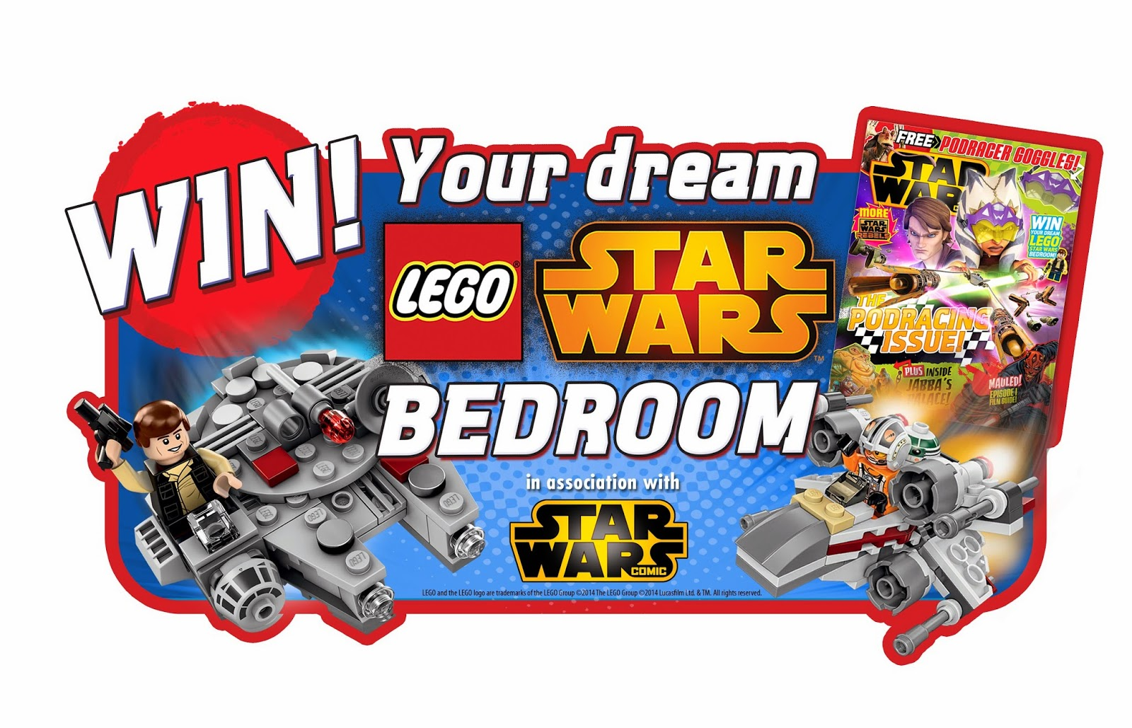 LEGO Star Wars Design Your Dream Bedroom Competition, LEGO Star Wars Bedroom, LEGO competition