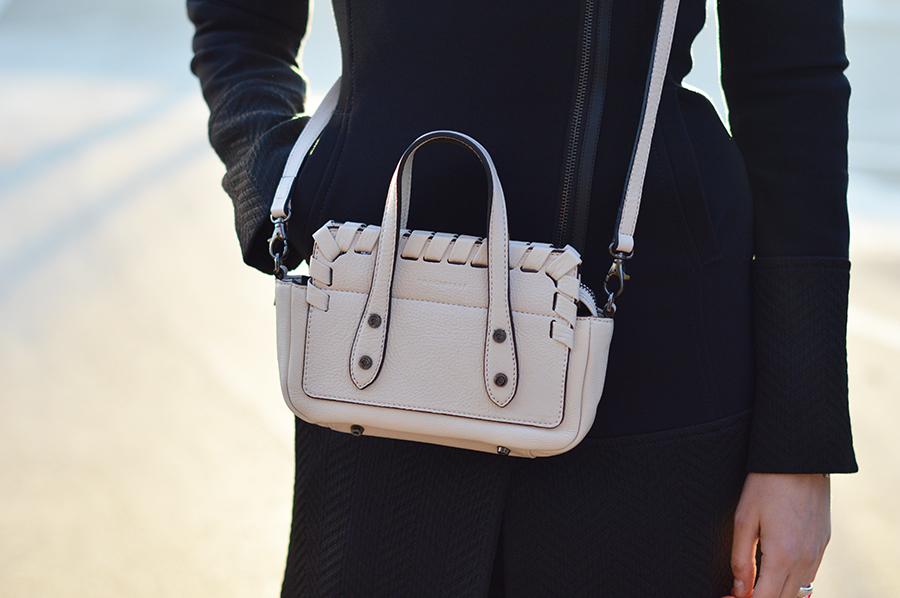 Coccinelle bag, borsa coccinelle, borsa coccinelle bianca, coccinelle mini bag