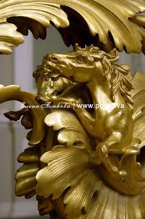 Особняк Кельха. Главная лестница, бронзовый декор