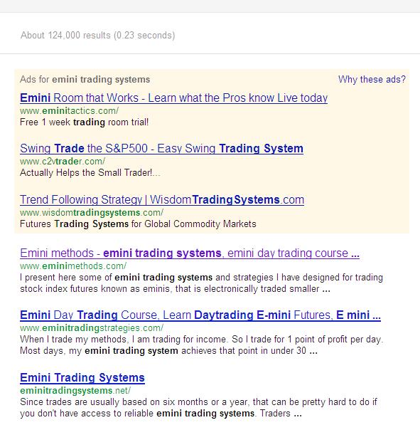Emini Methods 2012