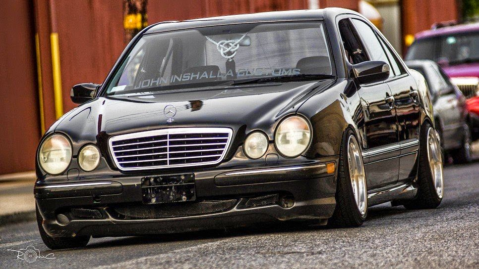 Mercedes Benz W210 E55 Amg Stance Style Benztuning