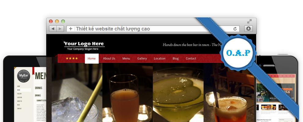 Thiết kế website chất lượng cao