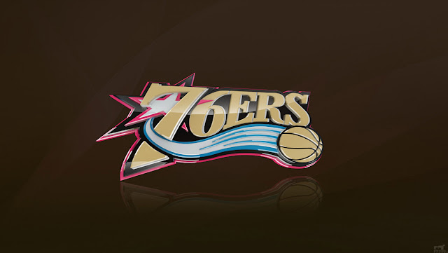 Eastern NBA Team Logo Wallpapers for iPhone 5 - Philadelphia 76ers