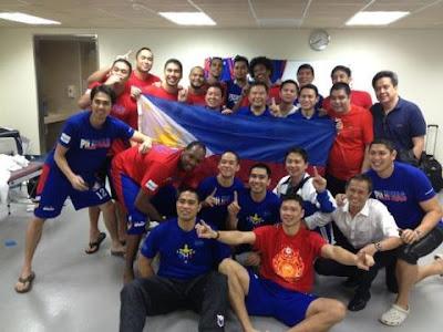 Smart Gilas Team Jones Cup 2012