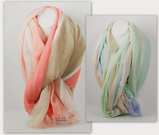 Elegant New Summer Scarves