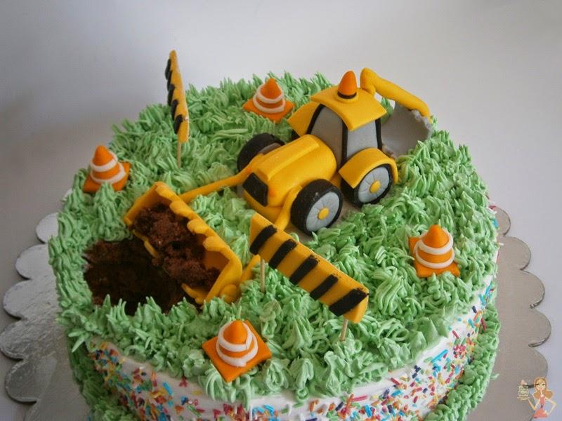 Make Me A Cake Digger Cake Topper Tutorial