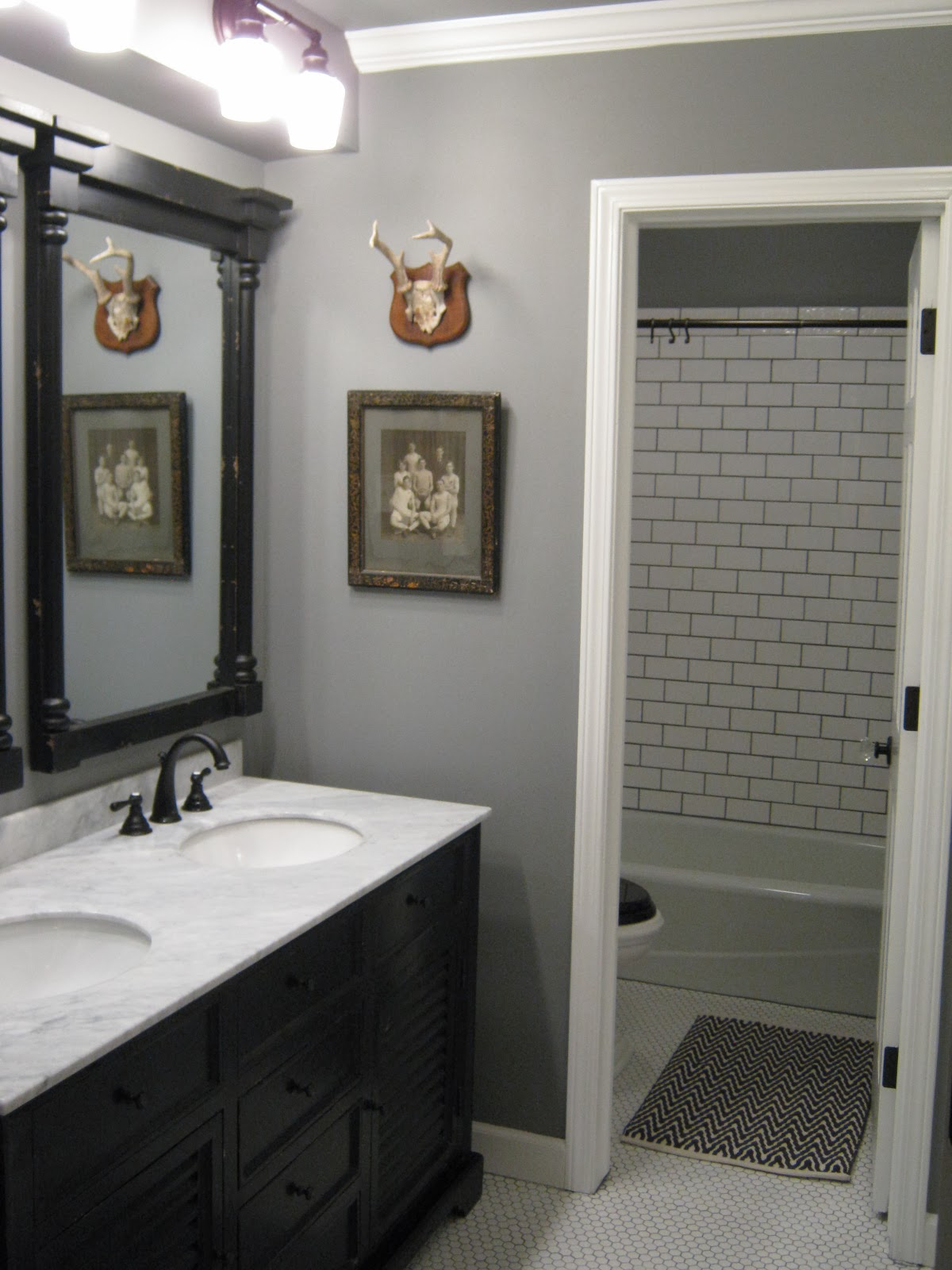 Eccentricities master bath before and after for Bathroom remodel 33411
