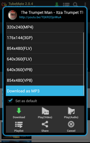 Download TubeMate v2.2.5.633 Build 610 Apk | Android Youtube Downloader Terbaru & Gratis