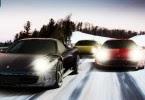 Karda Hızlı Yarış