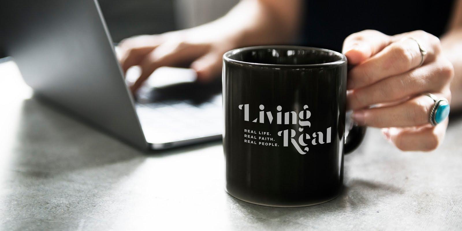Follow Living Real on Social Media