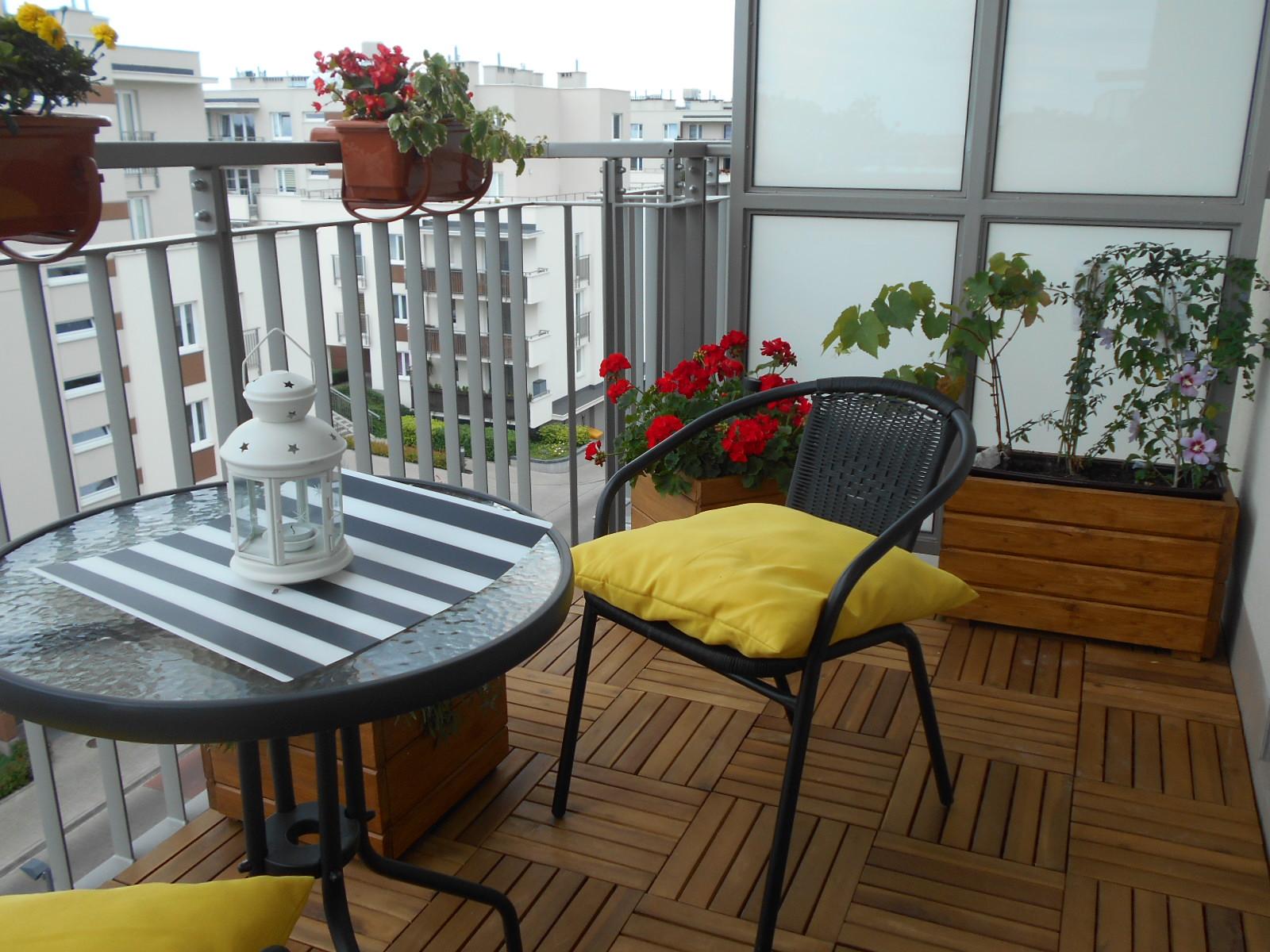 podr e gotowanie lifestyle warszawa jak urz dzi ma y balkon pomys na balkon. Black Bedroom Furniture Sets. Home Design Ideas