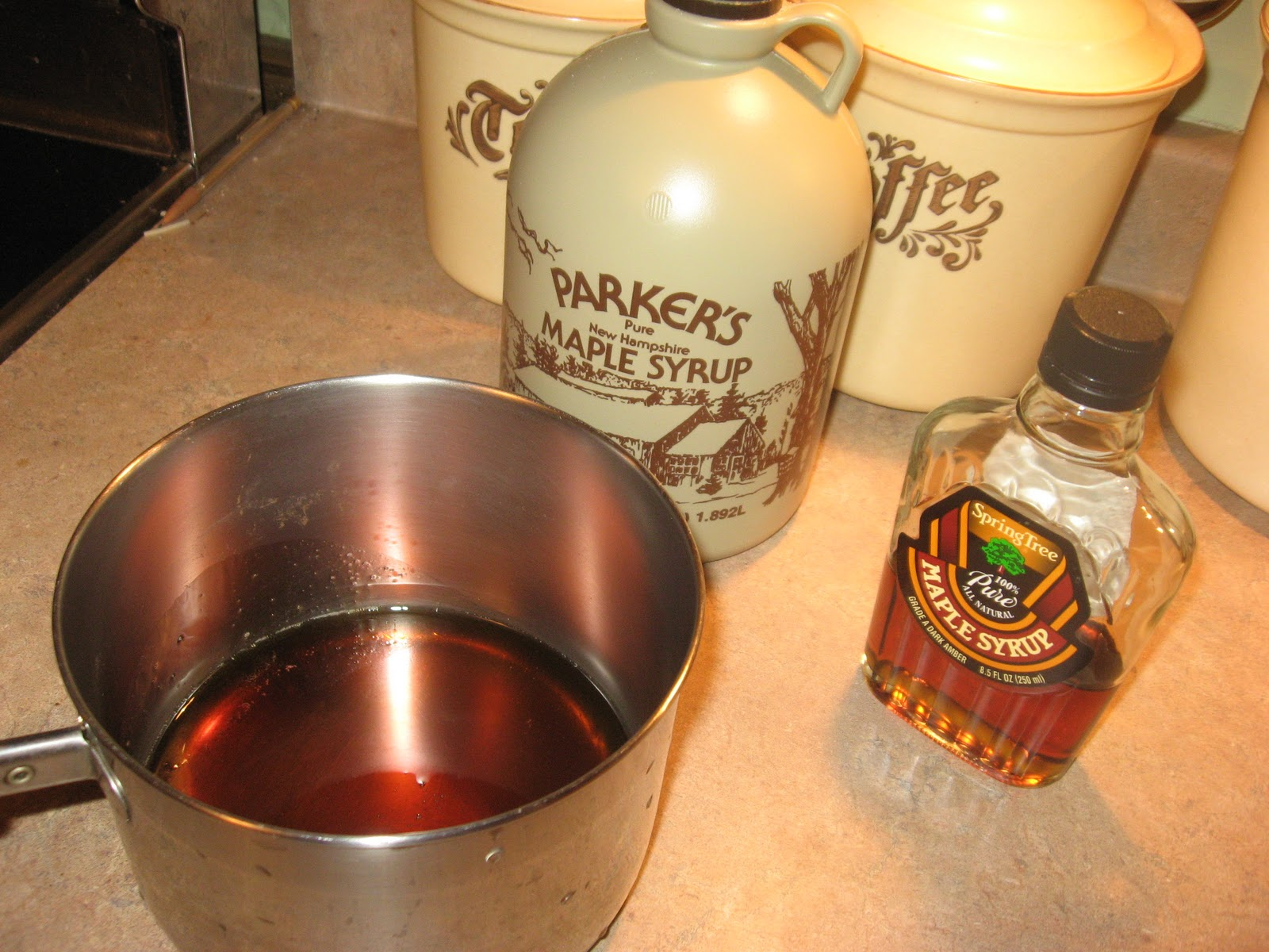 how to make maple syrup taffy without a candy thermometer