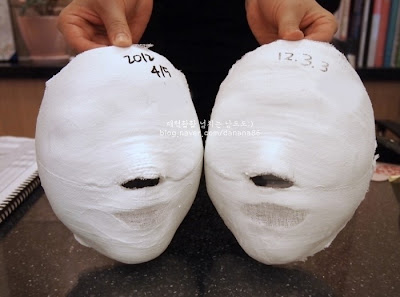 Facial Plaster Mask - Yakson House