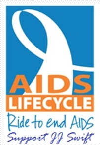 JJ -- 'I'm Riding to End AIDS'